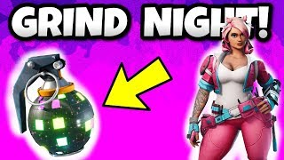 Fortnite Christmas Eve GRIND! LATE NIGHT BATTLE ROYALE- PS4 GAMEPLAY