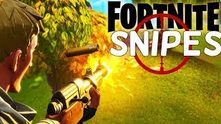 I Found An AIMBOT HACK For Sniper Shootout!!! -- Fortnite Snipe Highlights