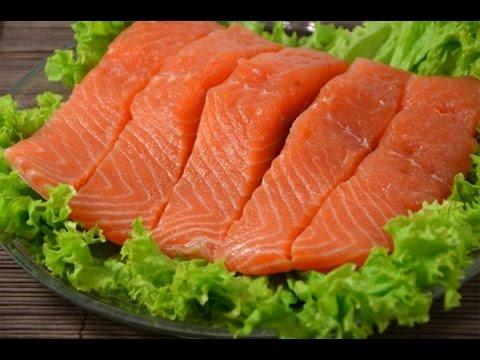 Как солить семгу. Как солить красную рыбу в домашних условиях. Малосольная семга.