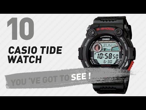 Casio Tide Watch Top 10 // New & Popular 2017