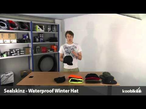 8bc703c940f1a Koo Bikes - Sealskinz Waterproof Winter Hat - YouTube
