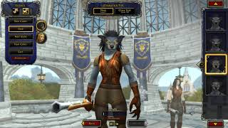 8.2.5 New Worgen Model Character Creation Screen