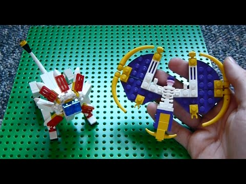 Lego Pokemon Instructions Part 14 Solgaleo And Lunala