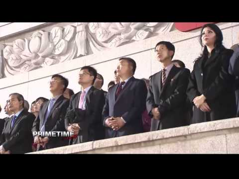 Primetime TV about a North Korea visit of the International Peace Foundation - part 2