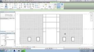 #22 - Autodesk Revit - Curtain Walls, Grid Lines and Mullions - Brooke Godfrey