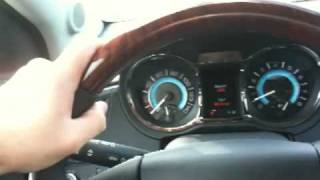 2010 Buick LaCrosse Interior Notes