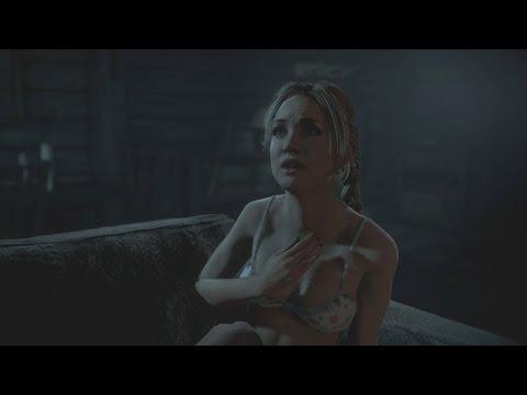 Until Dawn - Jessica Stripped Down / Jessica Kidnapped Scene |