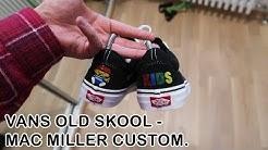 Vans old skool KIDS mixtape custom kengät!
