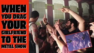 when you drag your girlfriend to the metal show (tour vlog pt. 3)