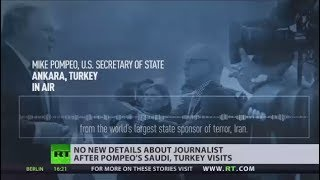 No need to rush investigation into missing Saudi journalist - Pompeo