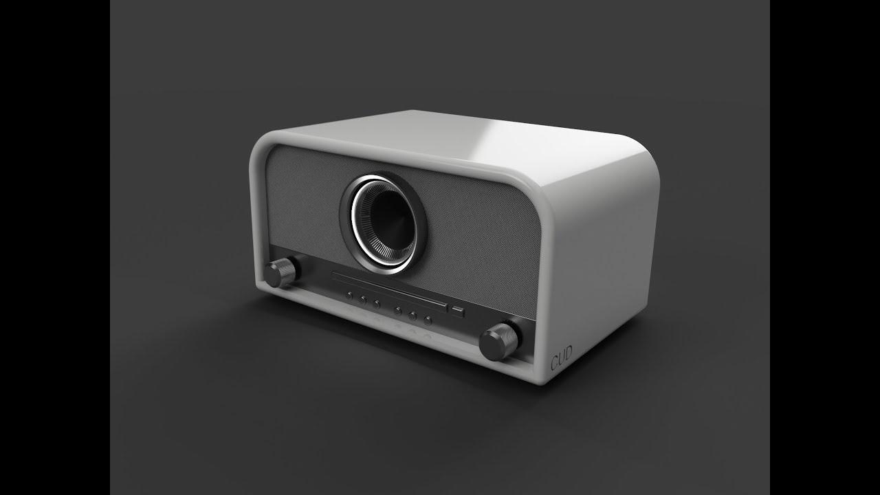 Fusion 360 Kitchen Radio