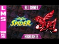 Wayi Spider vs AHQ Highlights All Games - LMS W4D1 Spring 2017 WS vs AHQ All Games