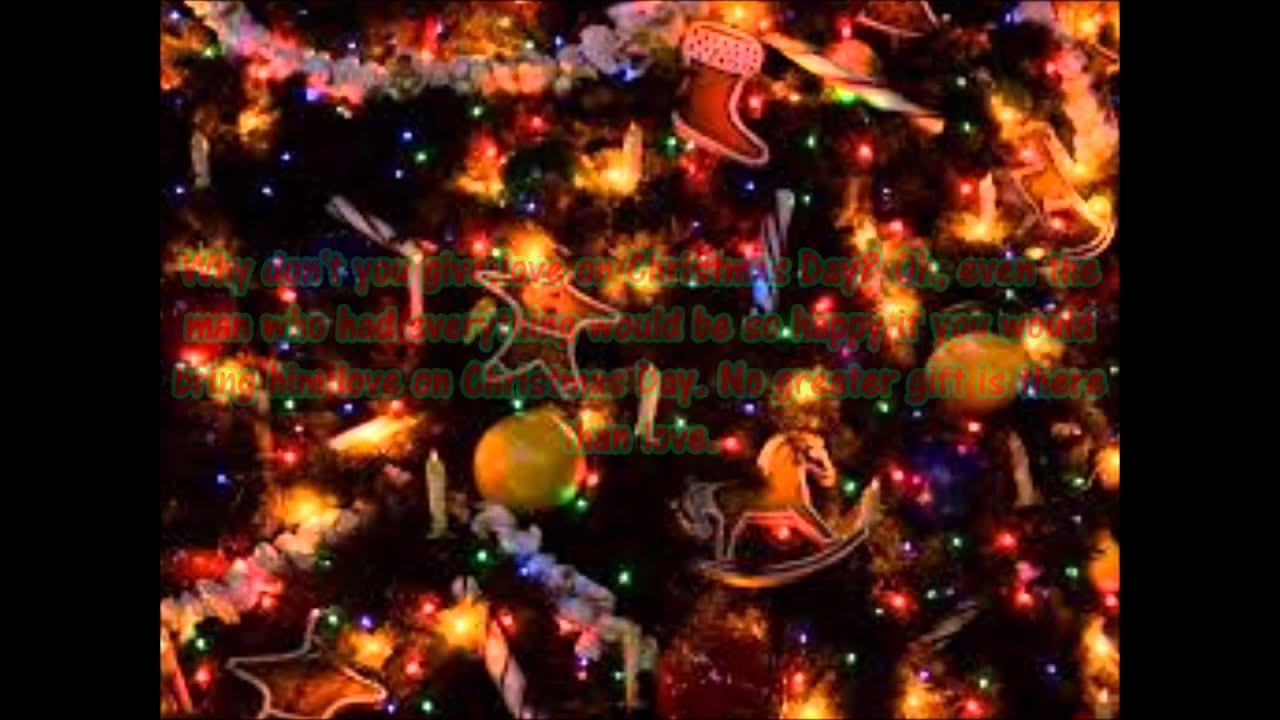 Give love on Christmas Day by The Jackson 5 lyrics - YouTube
