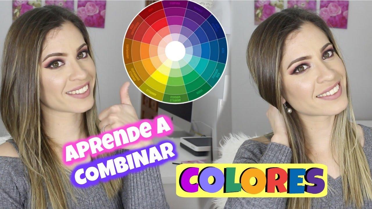Así Se Aprende A Combinar Los Colores En El Maquillaje Y La Moda Natygloss Youtube