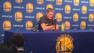 """Kerr on Barnes and Bogut: """"Looking forward to seeing them... Phenomenal players, teammates."""""""
