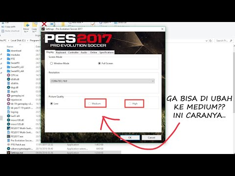 How To Open PES 2016 Settings That Refuses To Open.