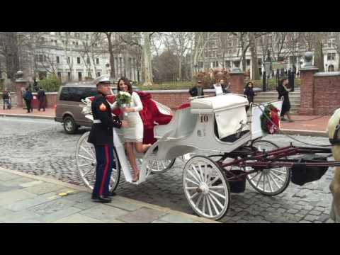 Incredible Marine Wedding Photo Session in Historic Philadelphia
