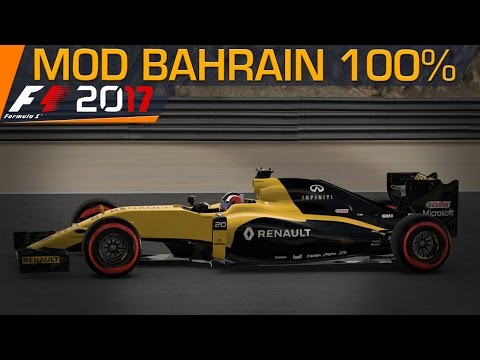 F1 2017 Mod Gameplay Bahrain 100% Race Nico Hulkenberg