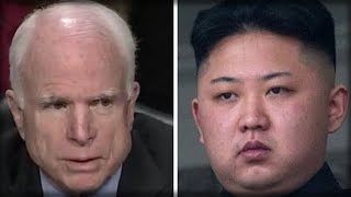 1 DAY AFTER STUDENT IMPRISONED BY NORTH KOREA DIES, JOHN MCCAIN SAYS THE STUPIDEST THING