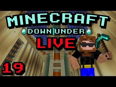 Minecraft Down Under   S2   Live Stream 19   New Spawn Spoiler Pics