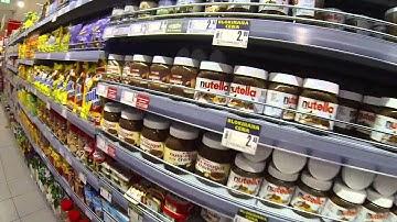Spar ruokakaupassa käynti ja dallailua