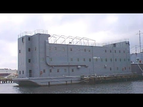 FEMA BUILT SLAVE-SHIPS!!!2017 WalMarts N Target Camps Now FEMA BARGES!!!!MUST SEE