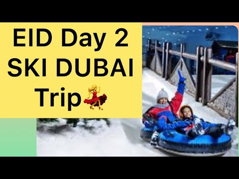 @SKI DUBAI 2020 || MALL Of the Emirates || snow park in the desert/Pakistani Vlogger