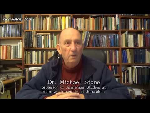 Jewish Professor Michael Stone on Armenia history, culture and unique archaeological discoveries