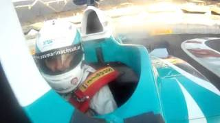 Yas Marina F1 Formula 1 Racing Experience and bad whiplash!