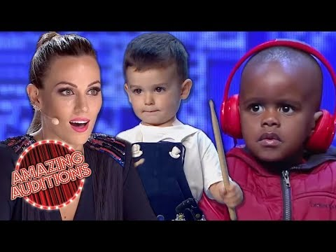 Talented Toddlers Amaze The Judges - Tiny Talent