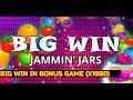 Big Win in online casino (x1980). Jammin Jars bonus game for 4€