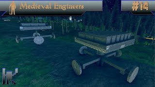 Let's Play Medieval Engineers - Episode 14: Craziest Cart Design Yet!