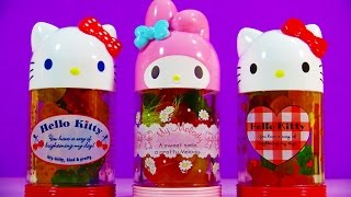 Hello Kitty Bottle Surprise Toys Shopkins Disney Princess Sofia the First Finding Dory Trolls