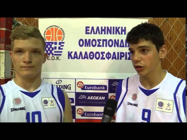 HellenicBF Video : Τάρλας, Παπαδάκης μιλούν μετά την νίκη επί του Ηρακλείου με 90-55