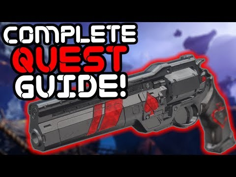 Destiny 2 – How to Get the Ace of Spades Exotic Hand Cannon!! thumbnail