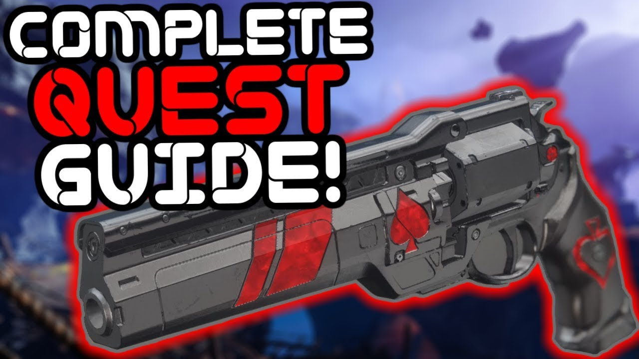 Destiny 2 – How to Get the Ace of Spades Exotic Hand Cannon!!