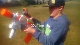 Nerf war fortnite Battle Royale part 2