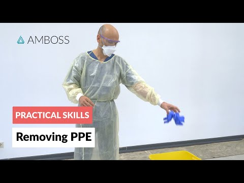 ⭐ COVID-19: Removing Personal Protective Equipment (PPE)