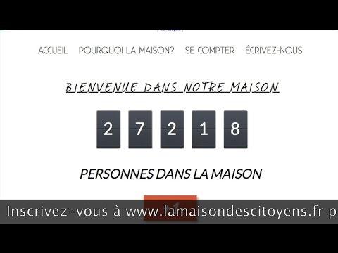 """Europe 1 Club de la Presse 12/10 : """"La Maison des Citoyens"""""""