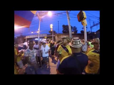 Colombian Independence day block party at El latino  Restaurant