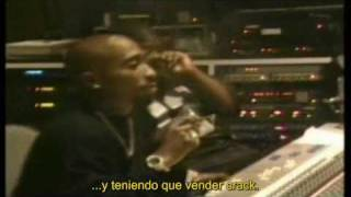 2pac, Phill Collins, Khadafi - Starin through my rear view traducida