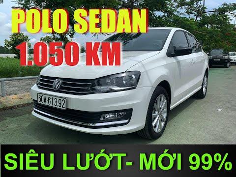 Volkswagen POLO SEDAN Cũ Chính Hãng Đi Mới 1.050 Km Giá Rẻ Như Cho | Bảo Hành 2021 | Màu Trắng Đẹp