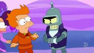 Futurama Bender - You're different. And i don't like you!