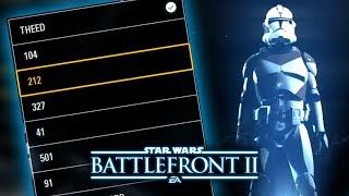 Star Wars Battlefront 2 - LEAKED CUSTOMIZATION Menu Shows Clone Trooper Legions and More!