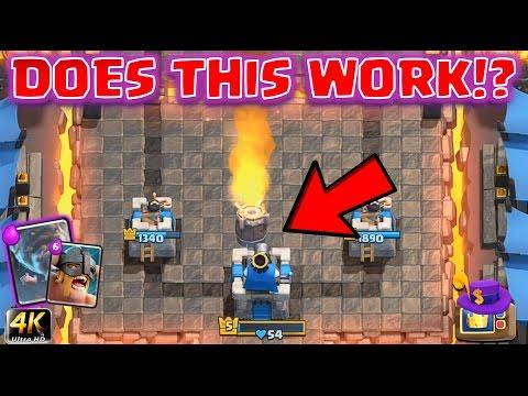 Clash Royale - *KING TOWER ATTACK DECKS* Royale TV Deck #2