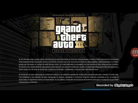 Caland0 GTA 3 para hacer gameplays (USARE MICR0FONO PARA EL AUDI0 DEL JUEG0)