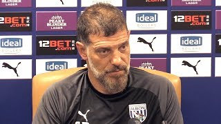 Slaven Bilic Full Pre-Match Press Conference - West Brom v Millwall - Championship