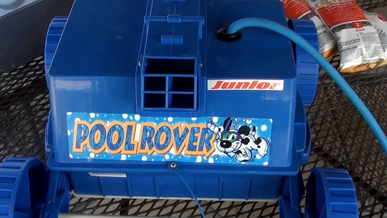 Aquabot Pool Rover Jr Above Ground Pool Robotic Cleaner