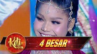 Zona India Neng Delima Bawain Lagu  [DIL LAGA LIYA], Keren Bingit! - Kontes 4 Besar KDI (10/9)