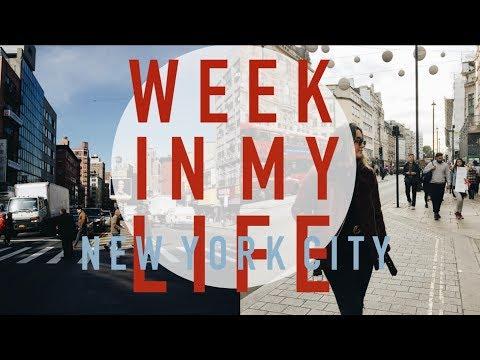 work week in my life (new york city vlog)